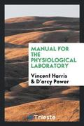 Manual for the Physiological Laboratory