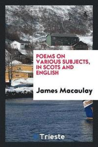 Poems on Various Subjects, in Scots and English
