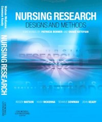 Nursing Research: Designs and Methods E-Book