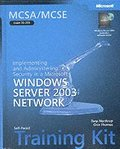 MCSA/MCSE Self Paced Training Kit: Implementing & Administering Security in a Windows Server 2003 Network Book/CD Package