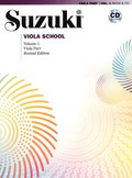 Suzuki Viola School, Vol 1: Viola Part, Book & CD [With CD (Audio)]