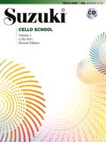 Suzuki Cello School Vol 1 Book And Cd