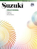 Suzuki Cello School, Vol 3: Cello Part, Book & CD