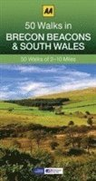 50 Walks in Brecon Beacons &; South Wales