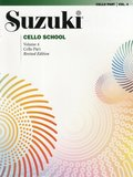 Suzuki Cello School, Vol 4: Cello Part