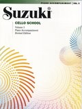 Suzuki Cello School, Vol 5: Piano Acc.