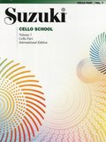 Suzuki Cello School, Vol 7: Cello Part