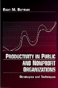 Productivity in Public and Non Profit Organizations