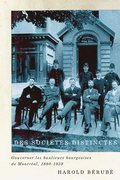Des societes distinctes: Volume 26