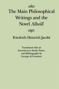 Main Philosophical Writings and the Novel Allwill