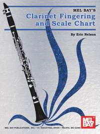 Mel Bay's Clarinet Fingering and Scale Chart