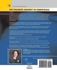 the trainer s journey to competence barbazette jean