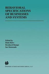Behavioral Specifications of Businesses and Systems