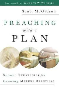 Preaching with a Plan