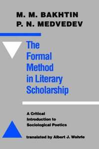 The Formal Method in Literary Scholarship