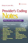 Providers' Coding Notes: Billing and Coding Pocket Guide