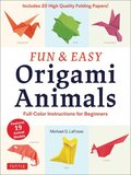 Fun and Easy Origami Animals: includes 20 Sheets of 6 inch Origami Paper