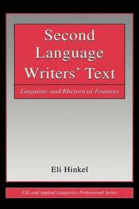 Second Language Writers' Text