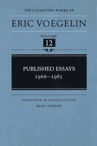 Published Essays, 1966-1985