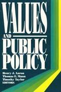 Values and Public Policy