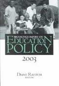 Brookings Papers on Education Policy: 2003