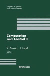 Computation and Control II