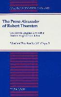 The Prose Alexander of Robert Thornton