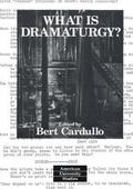 What is Dramaturgy?