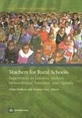 Teachers for Rural Schools