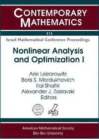 Nonlinear Analysis and Optimization I