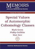 Special Values of Automorphic Cohomology Classes