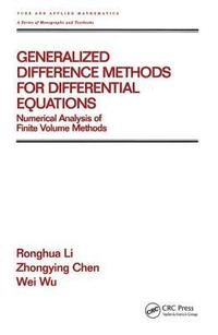 Generalized Difference Methods for Differential Equations