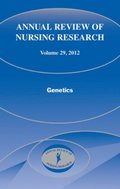 Annual Review of Nursing Research, Volume 29, 2012