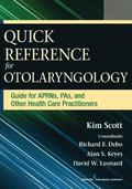 Quick Reference Guide for Otolaryngology