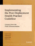 Implementing the Post-deployment Health Practice Guideline