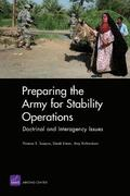 Preparing the Army for Stability Operations