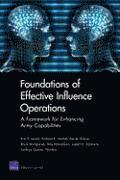 Foundations of Effective Influence Operations