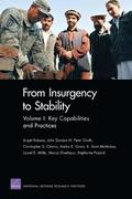 From Insurgency to Stability: v. 1 Key Capabilities and Practices