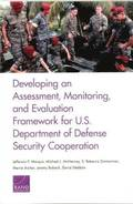 Developing an Assessment, Monitoring, and Evaluation Framework for U.S. Department of Defense Security Cooperation