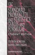CRC Standard Probability and Statistics Tables and Formulae, Student Edition