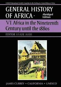General History of Africa volume 6 [pbk abridged]