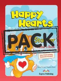 Happy Hearts Starter: Teacher's Mini Pack (international)