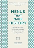 Menus that Made History