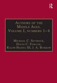 Authors of the Middle Ages. Volume I, Nos 1-4
