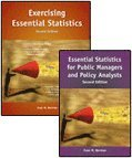 Essential Statistics for Public Managers and Policy Analysts, 2nd Edition + Exercising Essential Statistics, 2nd Edition Package