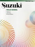 Suzuki Cello School Cello Part Volume 2