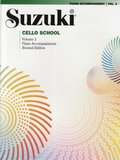 Suzuki Cello School Vol 3 Piano Accompan