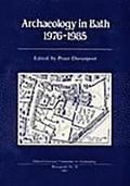Archaeology in Bath 1976-1985