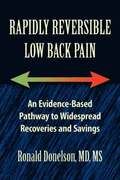 Rapidly Reversible Low Back Pain