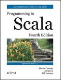 Programming in Scala, Fourth Edition
